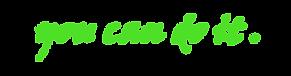 C C1 trainers tekstlijn 2 groen.png