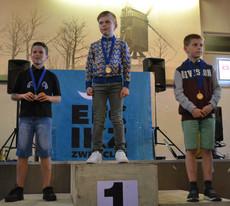 400m vrije slag   Jongens 13-14