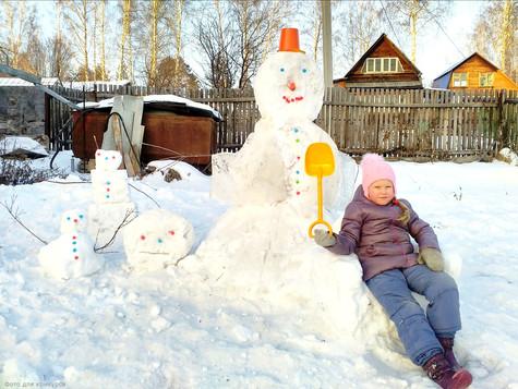 Теперь мы знаем, чей снеговик лучше!