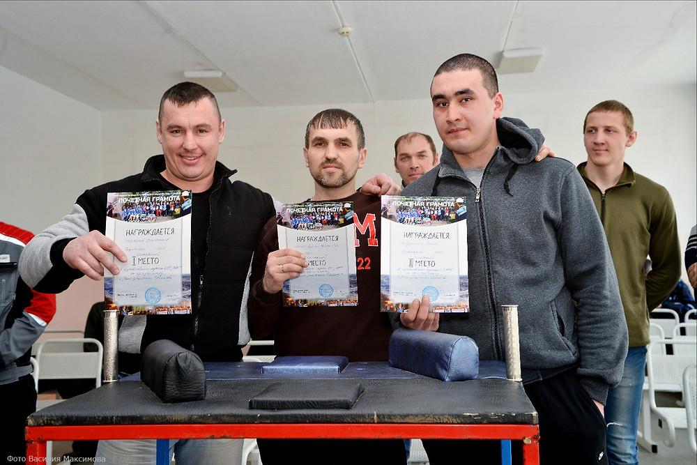 победители: Станислав Шархапов, Сергей Попов, Денис Гайфуллин