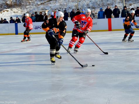 В Сатке открыли новую ледовую арену