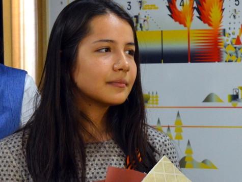 Юная чемпионка - лауреат премии Группы Магнезит