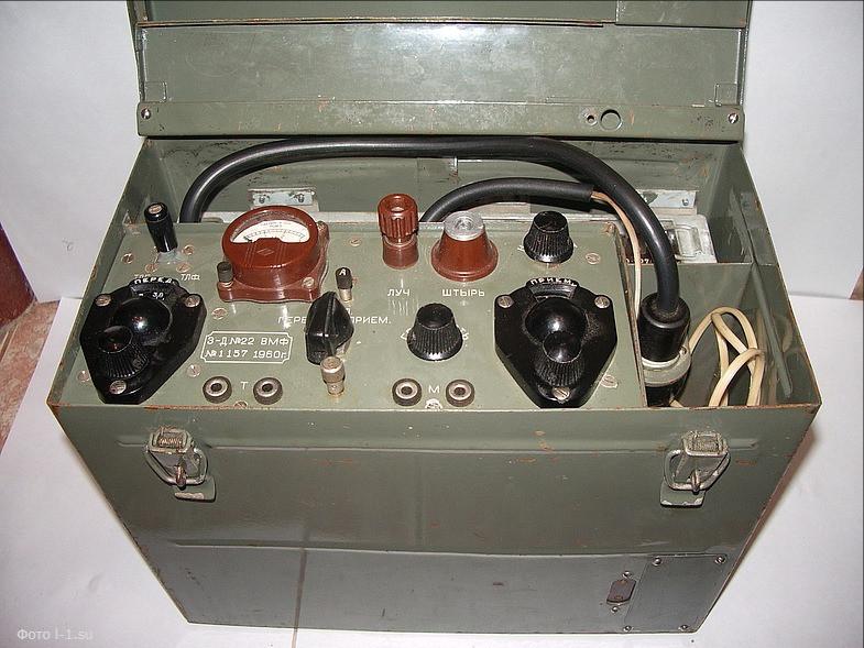 """Пример ламповой радиостанции. Модель """"Гранит-М"""""""