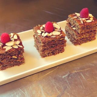 Honey Almond Cakes