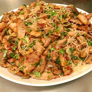 Vietnamese Pork with Vermicelli Noodles & Nước Chắm