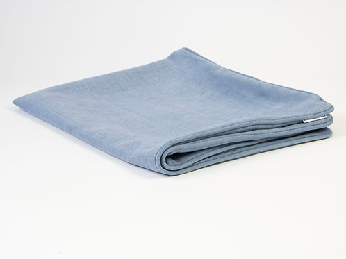 Farndon Linen Dog Bed Cover - Airforce Blue
