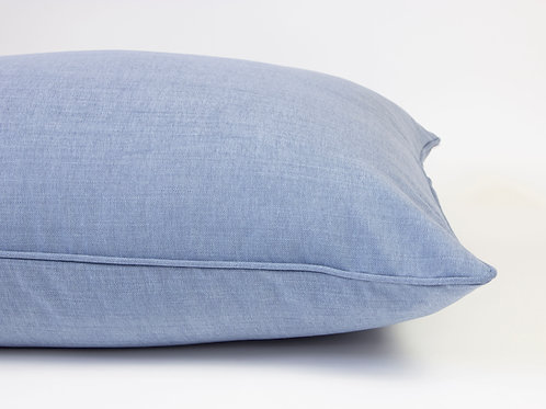 Farndon Linen Dog Bed - Airforce Blue