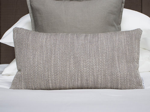Westbury Herringbone Feather Cushion