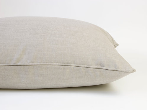 Farndon Linen Dog Bed - Pebble