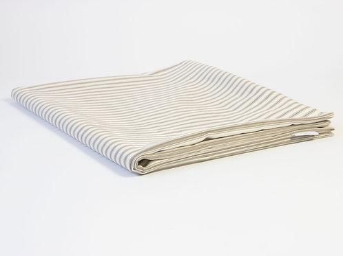 Carlton Ticking Stripe Dog Bed Cover - Natural