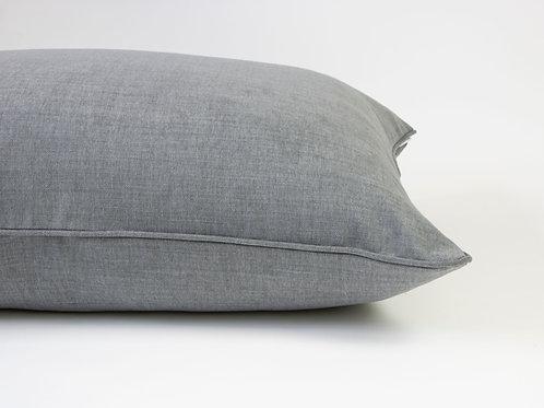 Farndon Linen Dog Bed -Slate