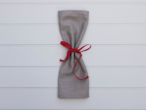 Plain Linen Napkins - Taupe Grey (Set of 4)