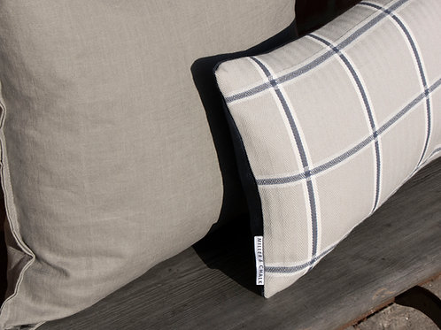 Frimley Check Feather Cushion - COVER ONLY