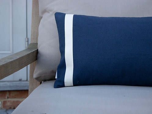 Hampton Stripe Feather Cushion
