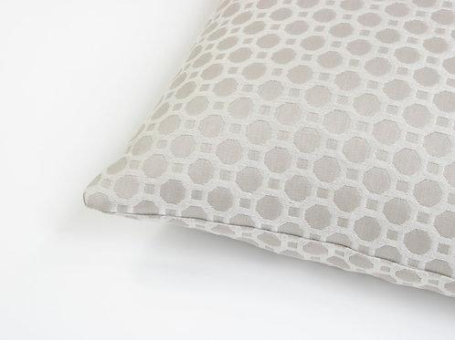 Burley Feather Cushion - Pearl