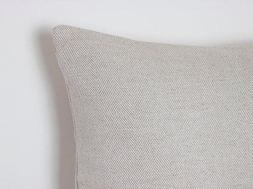 Tunbridge Herringbone Feather Cushion