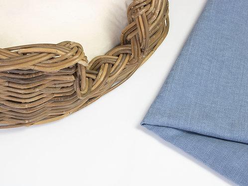 Teeton Oval Wicker Dog Bed & Cushion