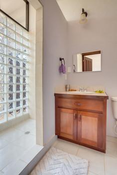 Adjusted bedroom bathroom