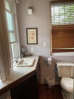 Upper level washroom and shower