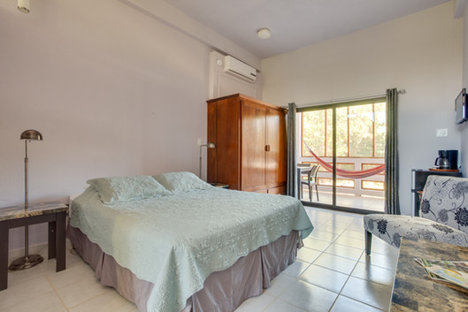 Adjusted bedroom