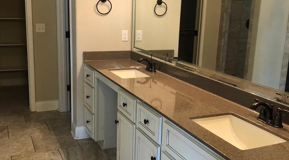 Master Bathroom Dual Vanities