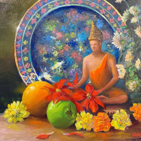 The Little Buddha.