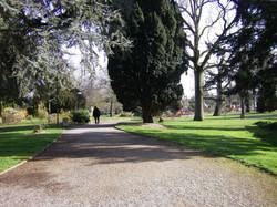 Entrée d'Anjou sur le jardin public