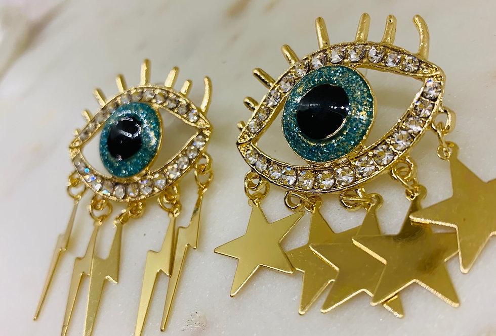 Evil eye Earrings 🧿