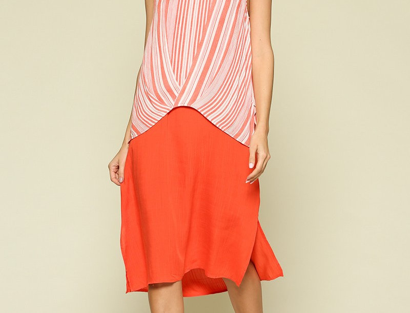 Sleeveless Scoop Dress