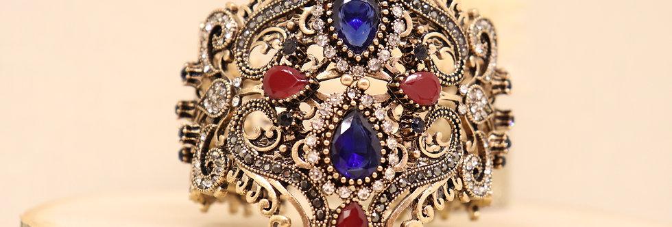 VINTAGE ANTIQUE BANGLES ELEGANT VINTAGE STYLE ANTIQUE GOLD