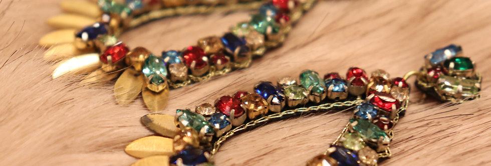 Swarovski Earrings Big Stones