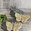 Thumbnail: 3-D butterfly earrings  Chic Long Earrings with Swarovski Crystal Butterflies, B