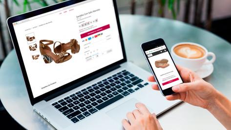 E-commerce de Calçados Femininos