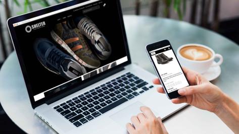Loja online de calçados