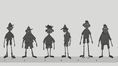 Child Character Thumbnails
