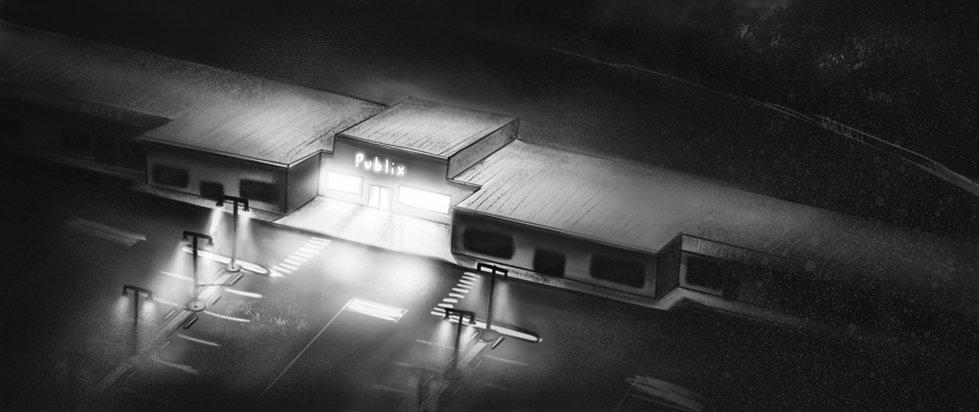 Haunted Supermarket - Iconic Shot #1