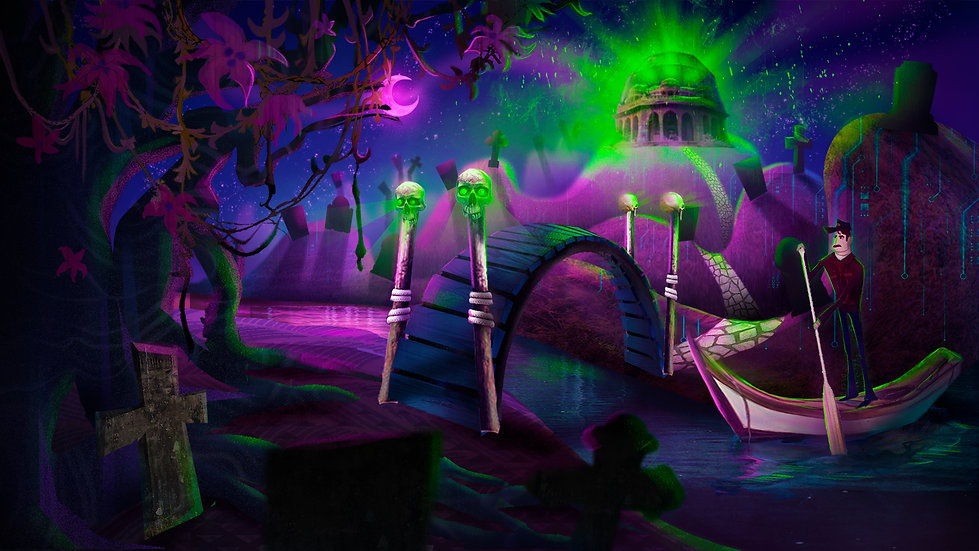 The Graveyard - Night