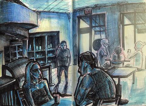 Starbucks Sketch (2019)