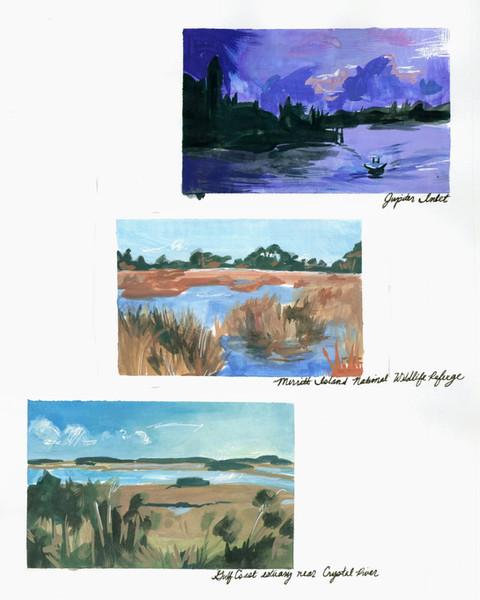 Landscape Sketches (2019)