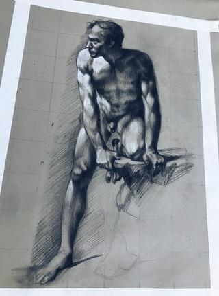 Pierre-Paul Prud'hon Master Study (2019)
