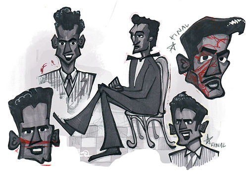DooWop Character Sketches