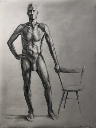 Man with Chair (2019)