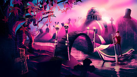The Graveyard - Sunset