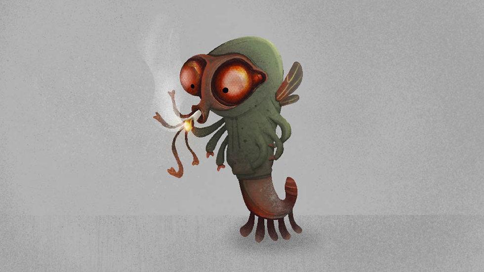 Anthropomorphic Creature Final Color