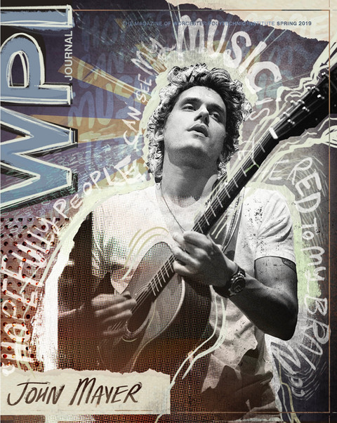 John Mayer Magazine Cover