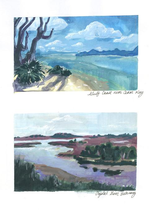Landscape sketches 2 (2019)