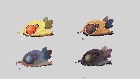 Baby Creature Color Thumbnails