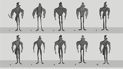 Adult Character Thumbnails