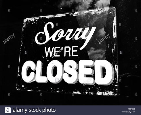 sorry-were-closed-sign-S0DTKD.jpg