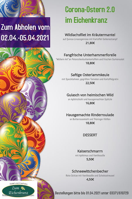 Kopie von Easter Party Poster Template -
